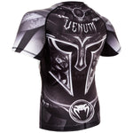 Venum Gladiator 3.0 Rashguard - Black/White - Short Sleeves picture 4