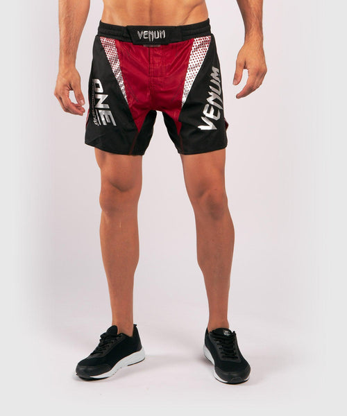Venum x ONE FC Fightshorts - Red picture 1