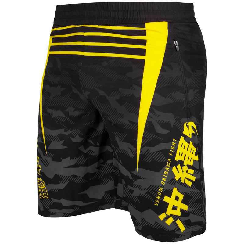 Venum Okinawa 2.0 Training Shorts – Black/Yellow picture 2
