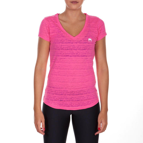 Venum Essential V Neck T-Shirt - Pink picture 1