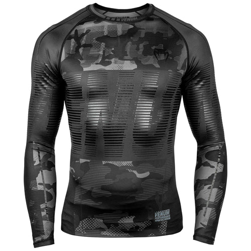 Venum Tactical Rashguard - Long Sleeves - Urban Camo/Black/Black picture 1