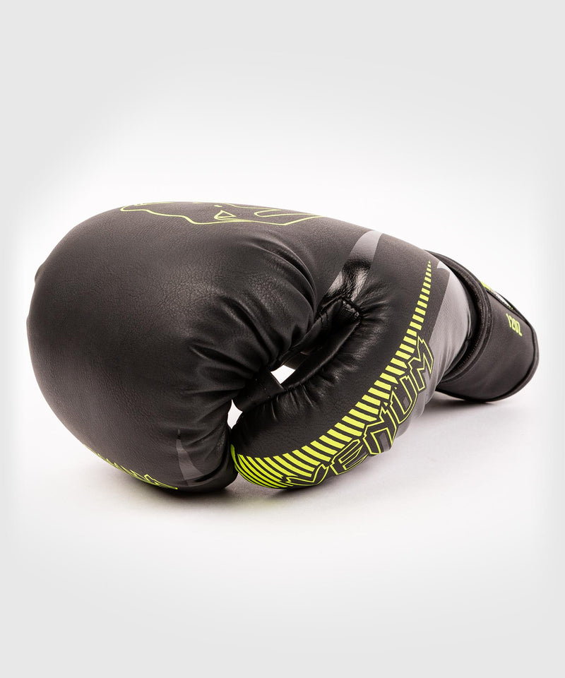 Venum Impact Boxing Gloves - Black/Neo Yellow - picture 4