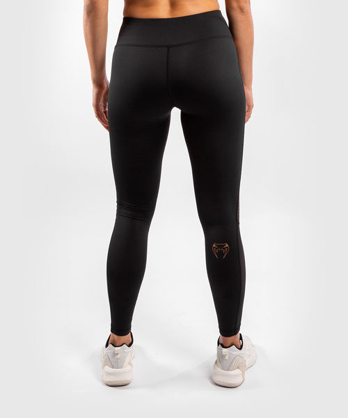2Venum Tecmo Leggings - For Women - Black/Bronze - picture 2