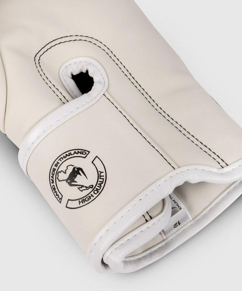 Venum Elite Boxing Gloves – White/Black picture 5