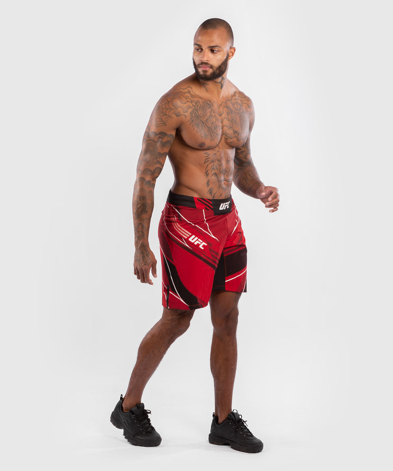 UFC Venum Authentic Fight Night Men's Shorts - Long Fit – Red Picture 7