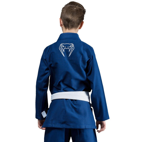 Venum Contender Kids BJJ Gi (Free white belt included) – Blue picture 2