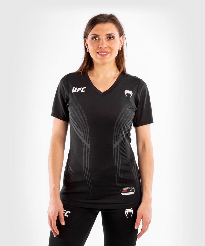 UFC Venum Authentic Fight Night Women's Walkout Jersey – Black Picture 1