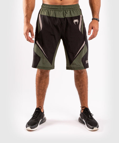 Venum ONE FC Impact Training shorts - Black/Khaki - picture 1