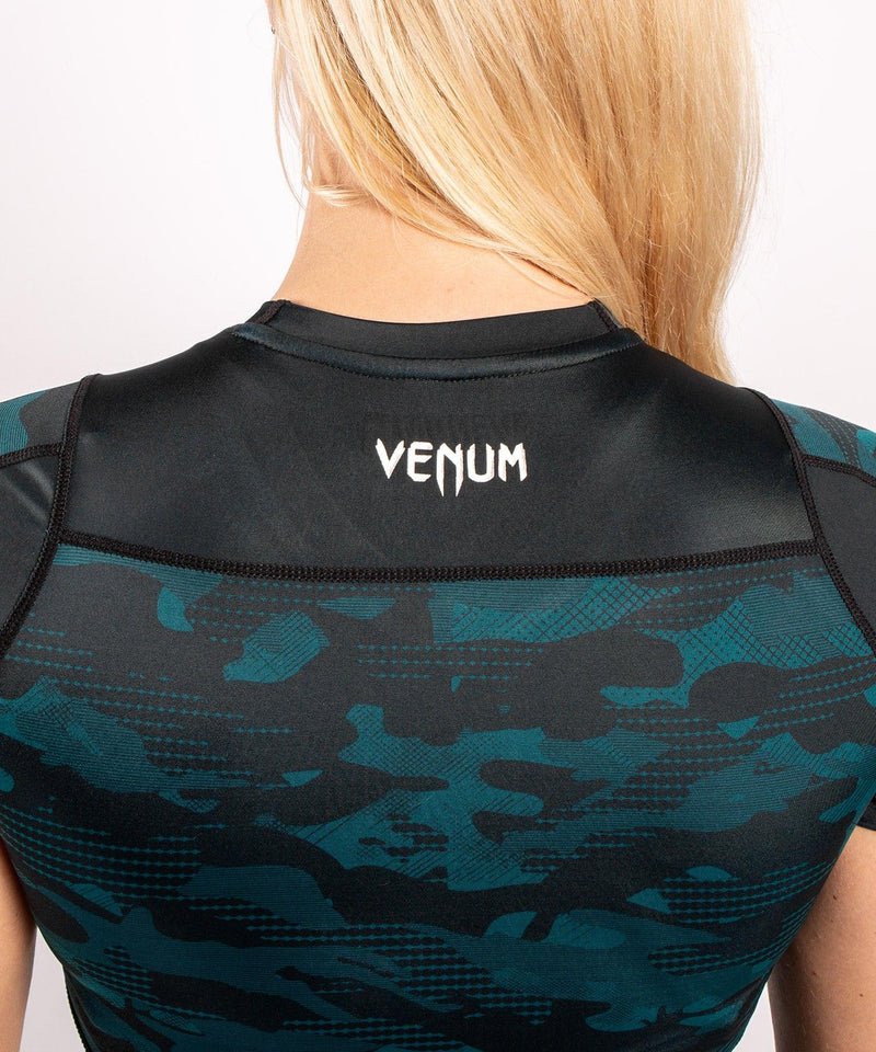 Venum Defender Rashguard - Short Sleeves - Black/Green picture 7