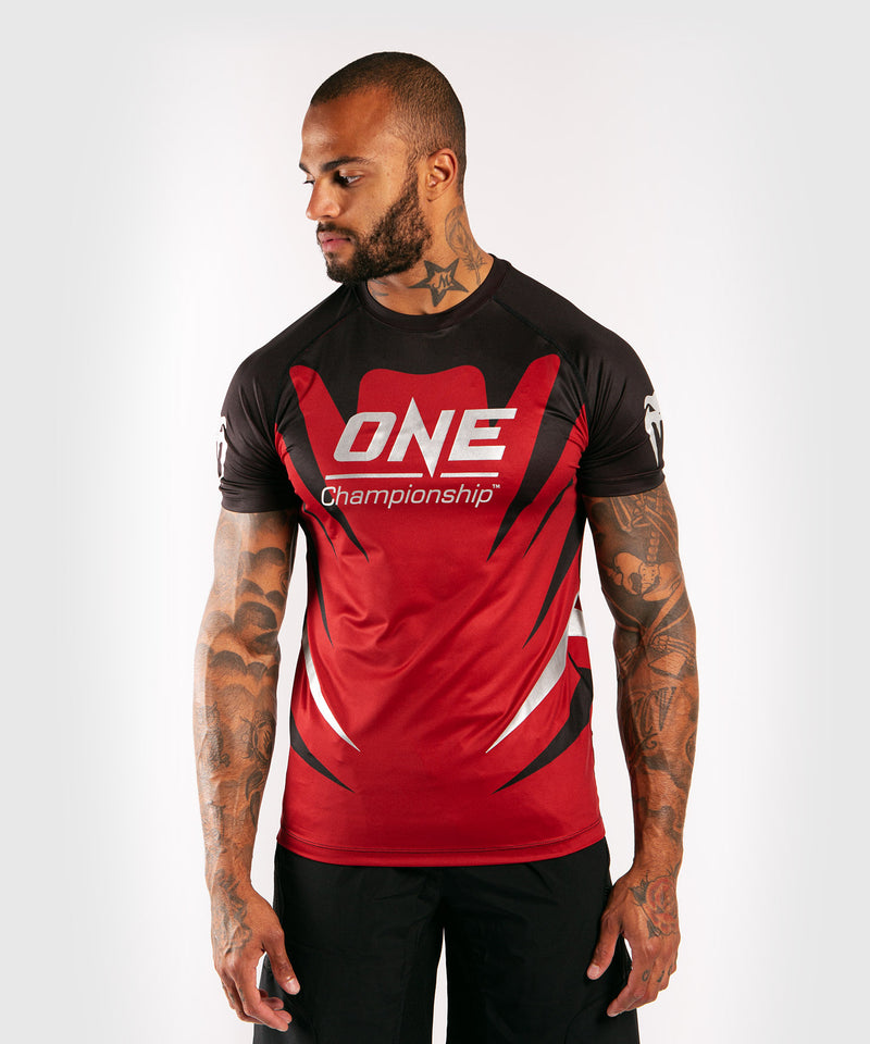 Venum x ONE FC Dry Tech T-shirt - Red picture 1