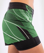 UFC Venum Authentic Fight Night Women's Shorts - Short Fit – Green Picture 7