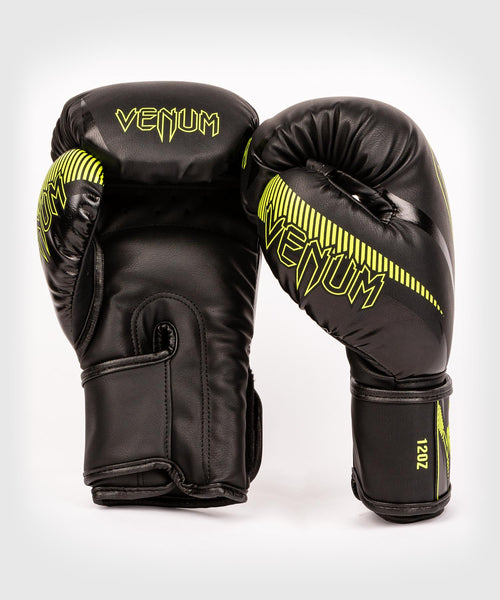 Venum Impact Boxing Gloves - Black/Neo Yellow - picture 2
