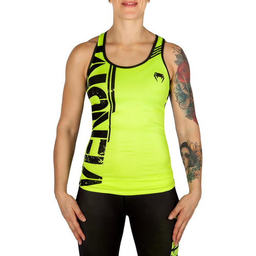 Venum Power Tank Top - Neo Yellow/Black picture 1