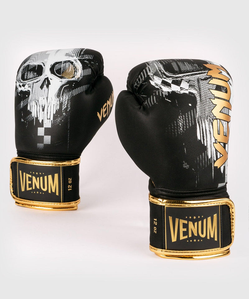 Venum Skull Boxing gloves - Black picture 1