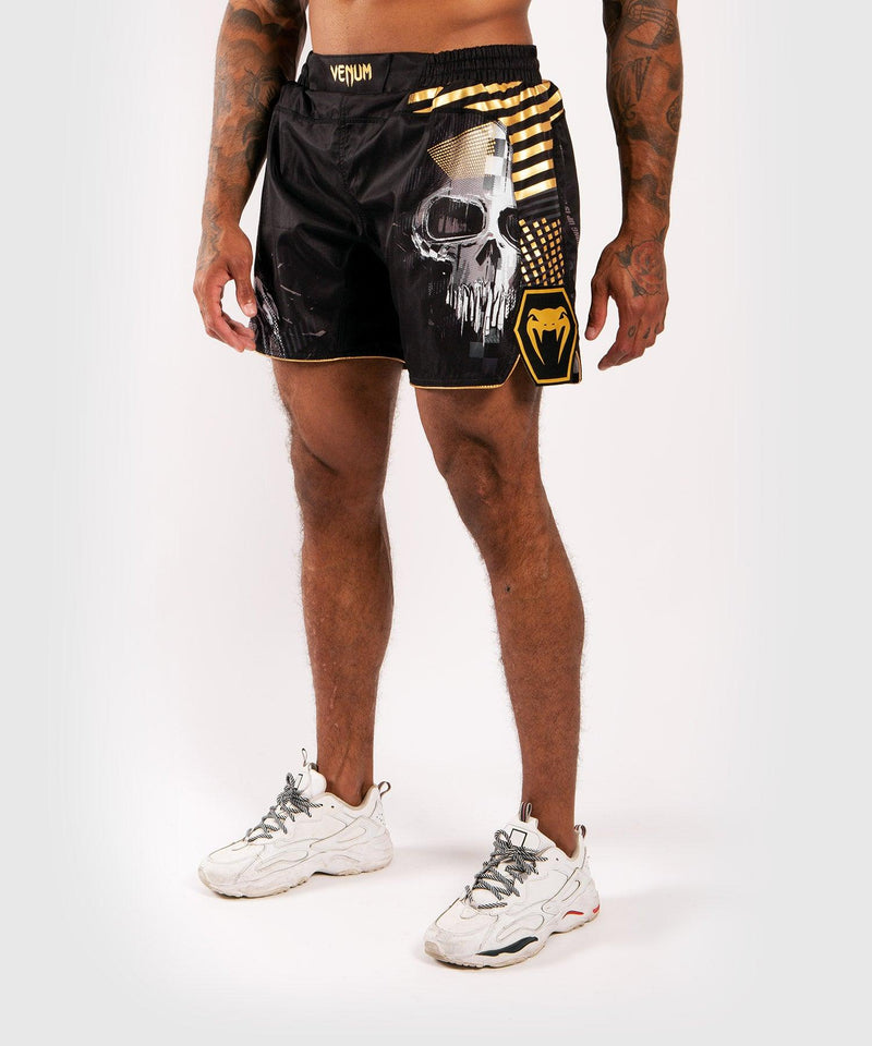 Venum Skull Fightshorts - Black picture 1
