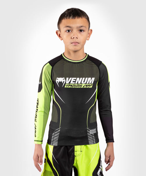 Venum Training Camp 3.0 Kids Rashguard - picture 1