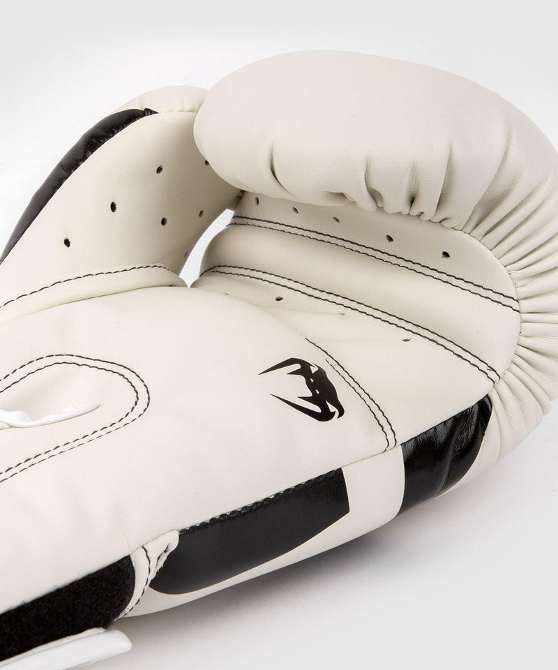 Venum Elite Boxing Gloves – White/Black picture 4