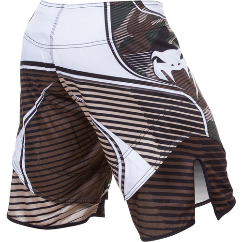 Venum Camo Hero Fightshorts – Green/Brown picture 3