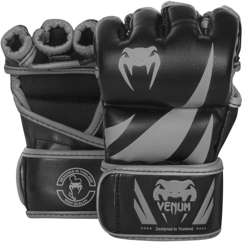 Venum Challenger MMA Gloves – Black/Grey picture 1