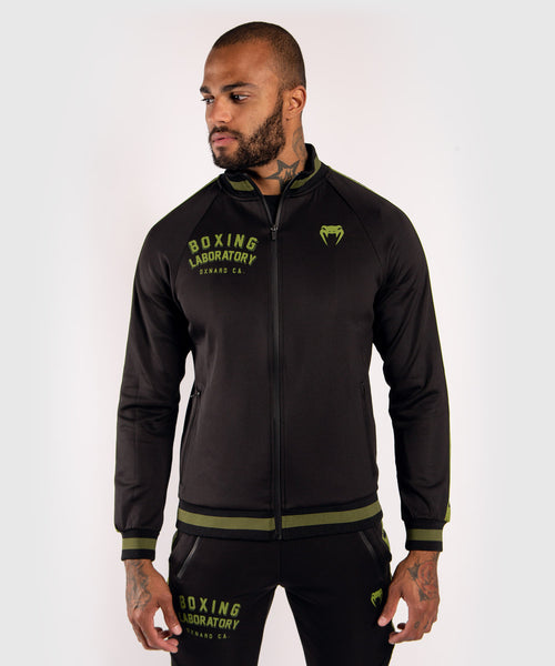 Venum Boxing Lab track jacket - Black/Green picture 1