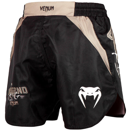 Venum Underground King Fightshorts – Black/Sand picture 4