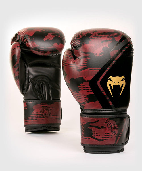 Venum Defender Contender 2.0 Boxing Gloves – Black/Red picture 1