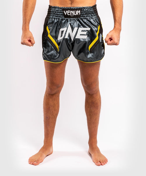Venum ONE FC Impact Muay Thai Shorts - Grey/Black - picture 1