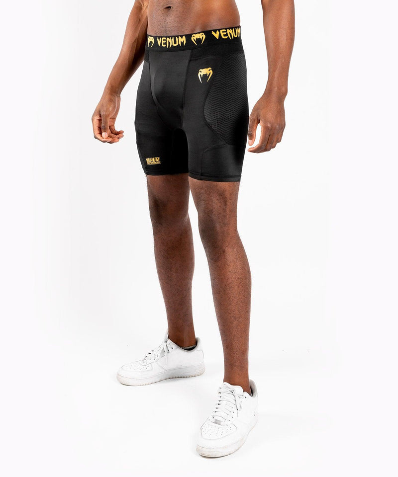 Venum G-Fit Compression Shorts – Black/Gold picture 3