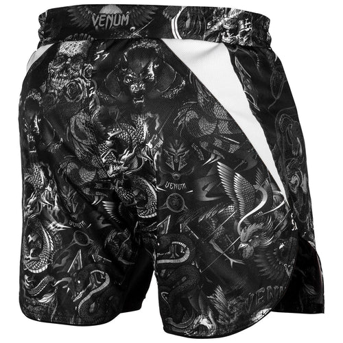 Venum Art Fightshorts – Black/White picture 4