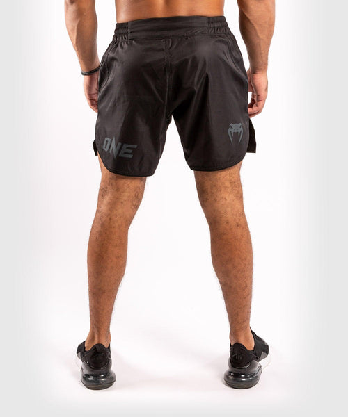 Venum ONE FC Impact Fightshorts - Black/Black - picture 2