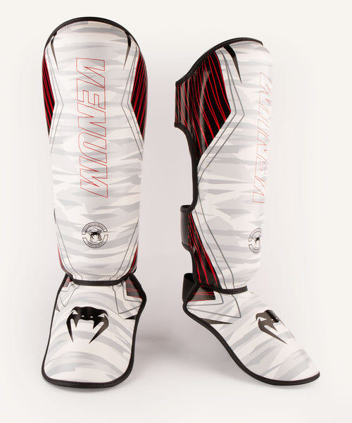 Venum Contender 2.0 Shin Guards - White/Camo picture 1