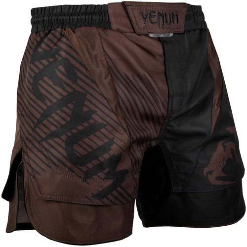 Venum NoGi 2.0 Fightshorts – Black/Brown picture 1