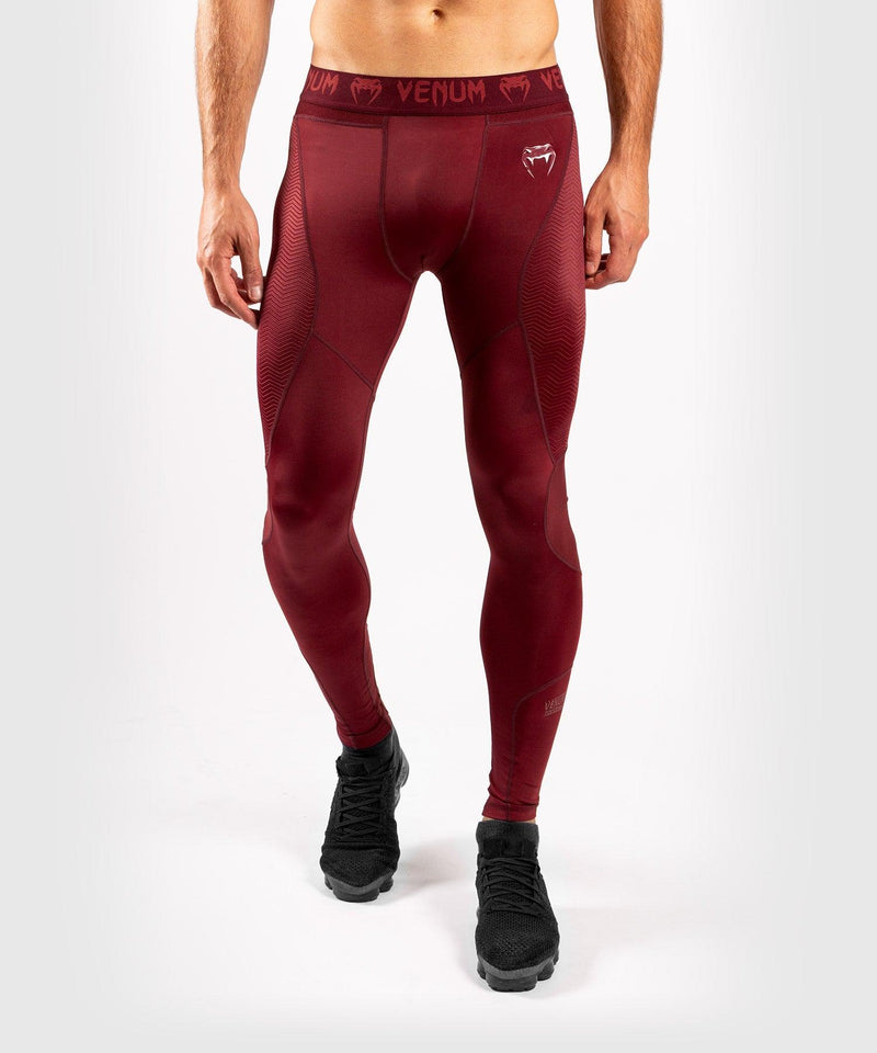 Venum G-Fit Compresssion Tights - Burgundy picture 1