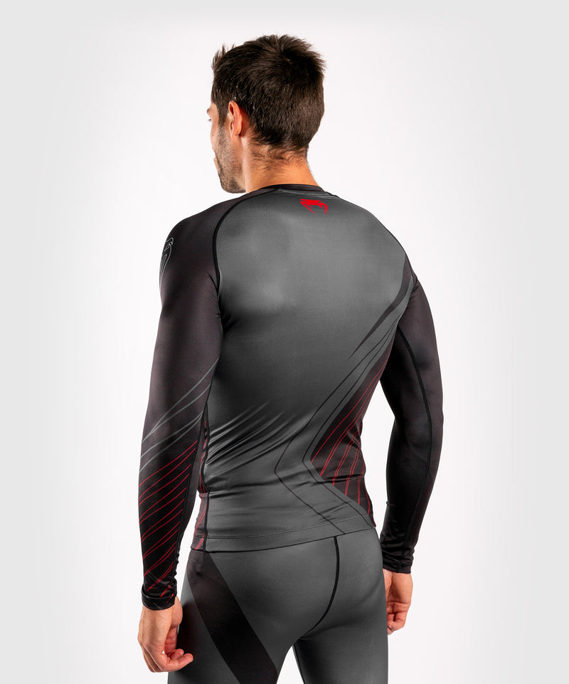 Venum Contender 5.0 Rashguard - Long sleeves - Black/Red picture 4