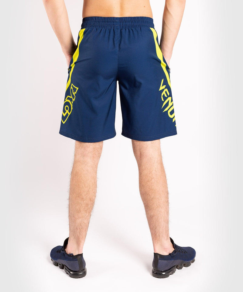 Venum Origins Training short Loma Edition Blue/Yellow picture 2