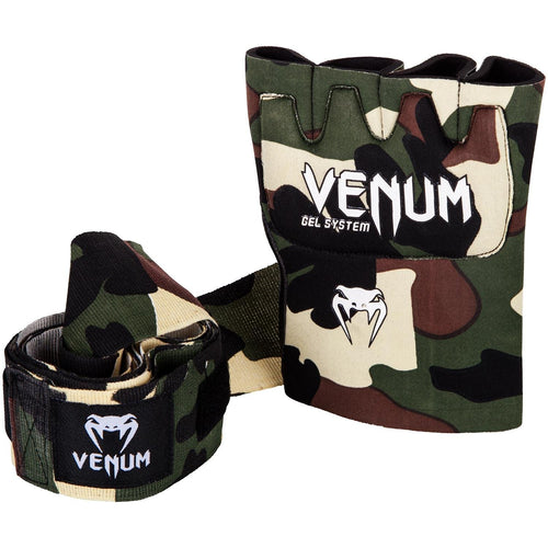 Venum Kontact Gel Glove Wraps - Forest camo picture 2