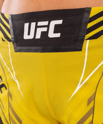 UFC Venum Authentic Fight Night Women's Shorts - Short Fit – Yellow Picture 5