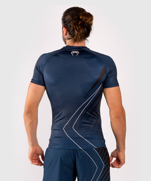 Venum Contender 5.0 Rashguard - Short sleeves - Navy/Sand picture 2