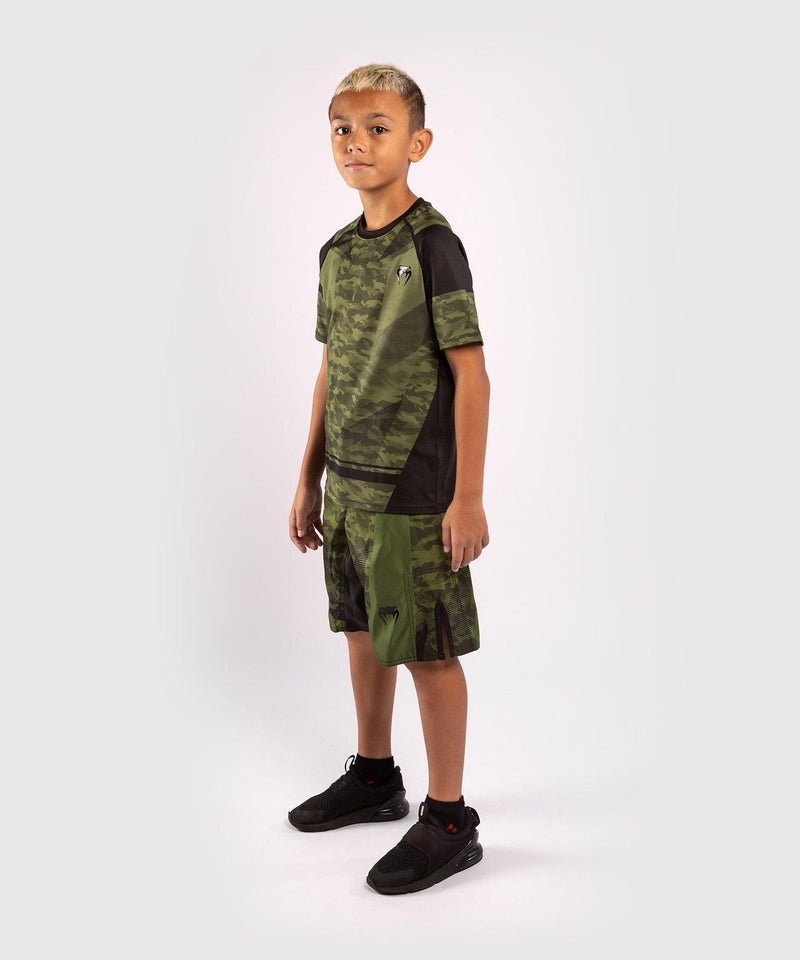 Venum Trooper Kids Dry-Tech T-shirt - Forest camo/Black picture 7