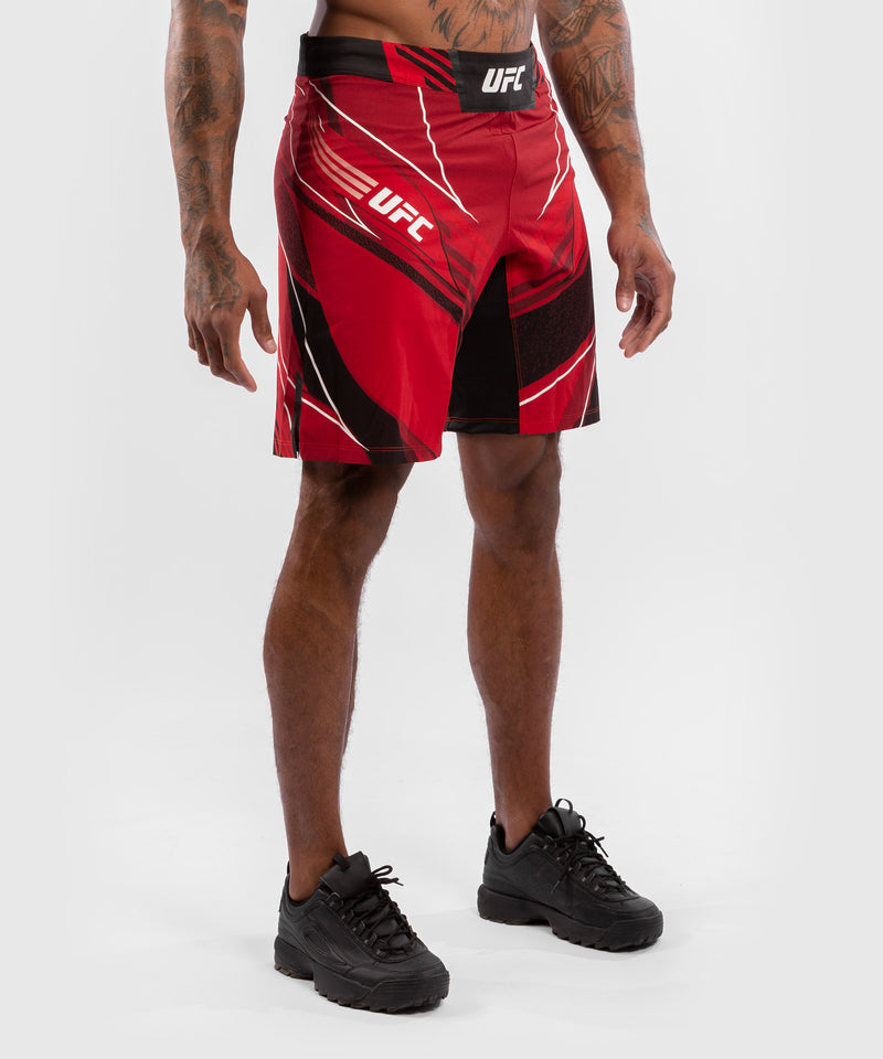 UFC Venum Authentic Fight Night Men's Shorts - Long Fit – Red Picture 4