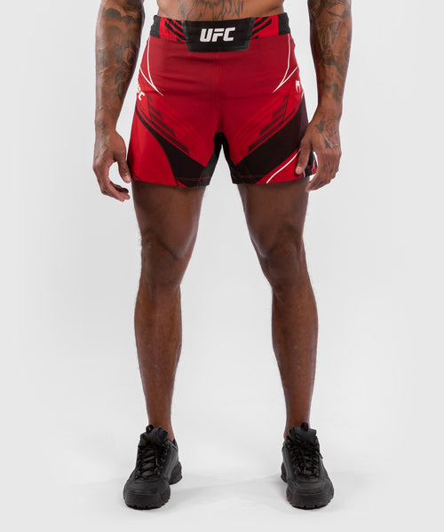 UFC Venum Authentic Fight Night Men's Shorts - Short Fit – Red Picture 1