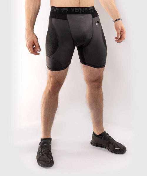 Venum G-Fit Compression Shorts – Grey/Black picture 1