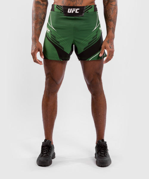 UFC Venum Authentic Fight Night Men's Shorts - Short Fit – Green Picture 1