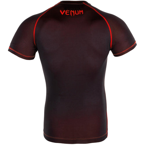Venum Contender 3.0 Compression T-shirt - Short Sleeves – Black/Red picture 3