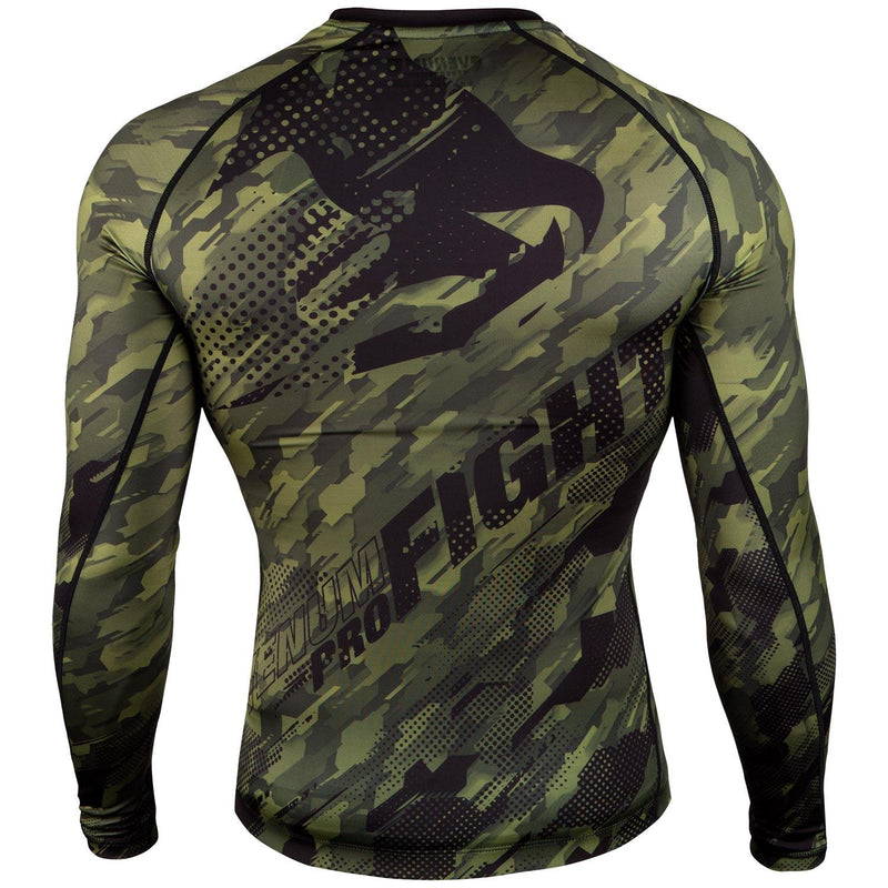 Venum Tecmo Rashguard - Long Sleeves – Khaki picture 2