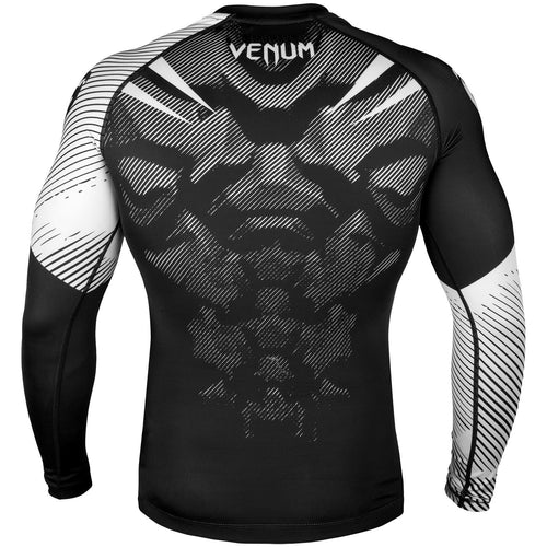 Venum NoGi 2.0 Rashguard - Long Sleeves – Black/White picture 4