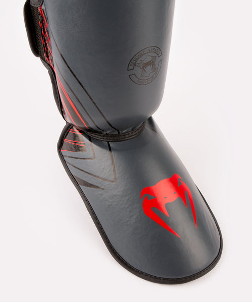 Venum Contender 2.0 Shin Guards - Black/Red picture 2