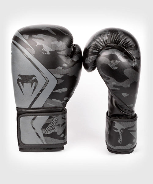 Venum Defender Contender 2.0 Boxing Gloves – Black/Black picture 2