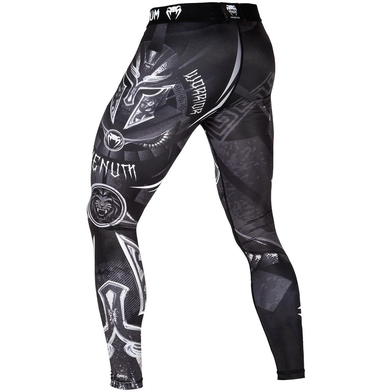 Venum Gladiator 3.0 Spats – Black/White picture 3