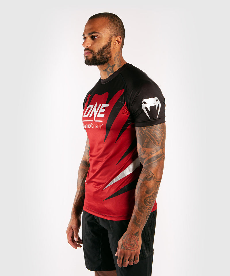 Venum x ONE FC Dry Tech T-shirt - Red picture 3